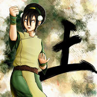 Toph Beifong by raiderswing