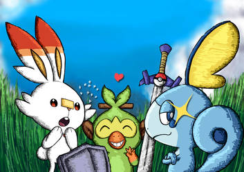 Pokemon Sword and Shield by raiderswing