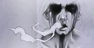 Smoke. Sketchbook