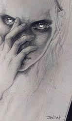 WIP. Girl by sashajoe