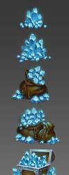 Crystals by sashajoe