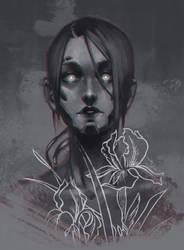 Sketch | Irises by sashajoe