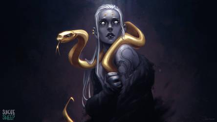 Snake by sashajoe