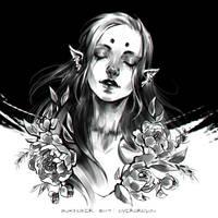 Inktober2019: Overgrown