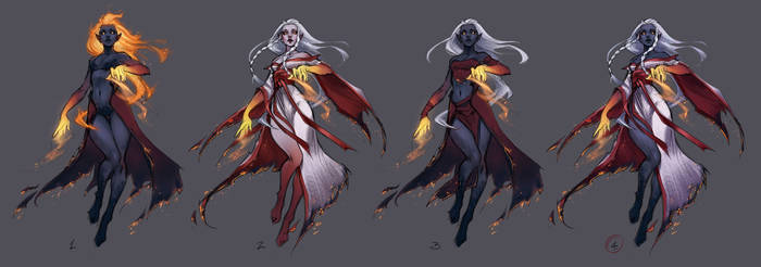 Lady of Fire \WIP\