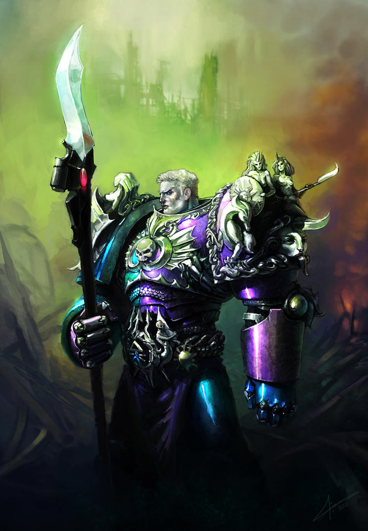 [W30K] Collections d'images : Les Primarques - Page 4 The_xith_primarch_by_saint_max-d3f5fr3