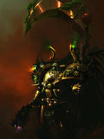 The XIV Primarch by saint-max