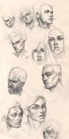 Portraits practice #1