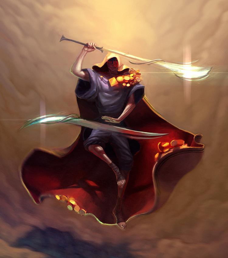 Oradrim Templar ~ Faeria ~ by saint-max