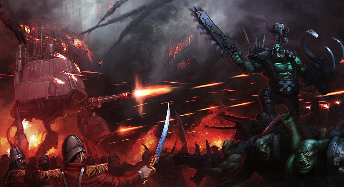 Commission: Attack on Praetoria by saint-max
