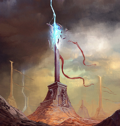 Oradrim Pylon ~ Faeria ~ by saint-max