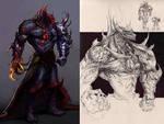 Demon Horus: character study