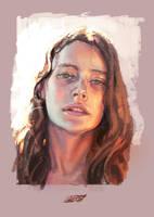Portrait study #1 by saint-max