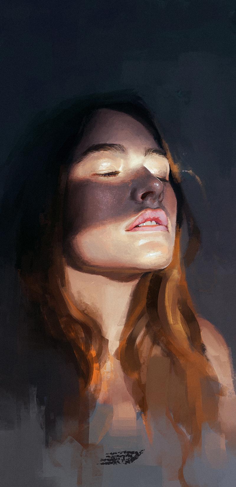 Portrait study #3 by saint-max