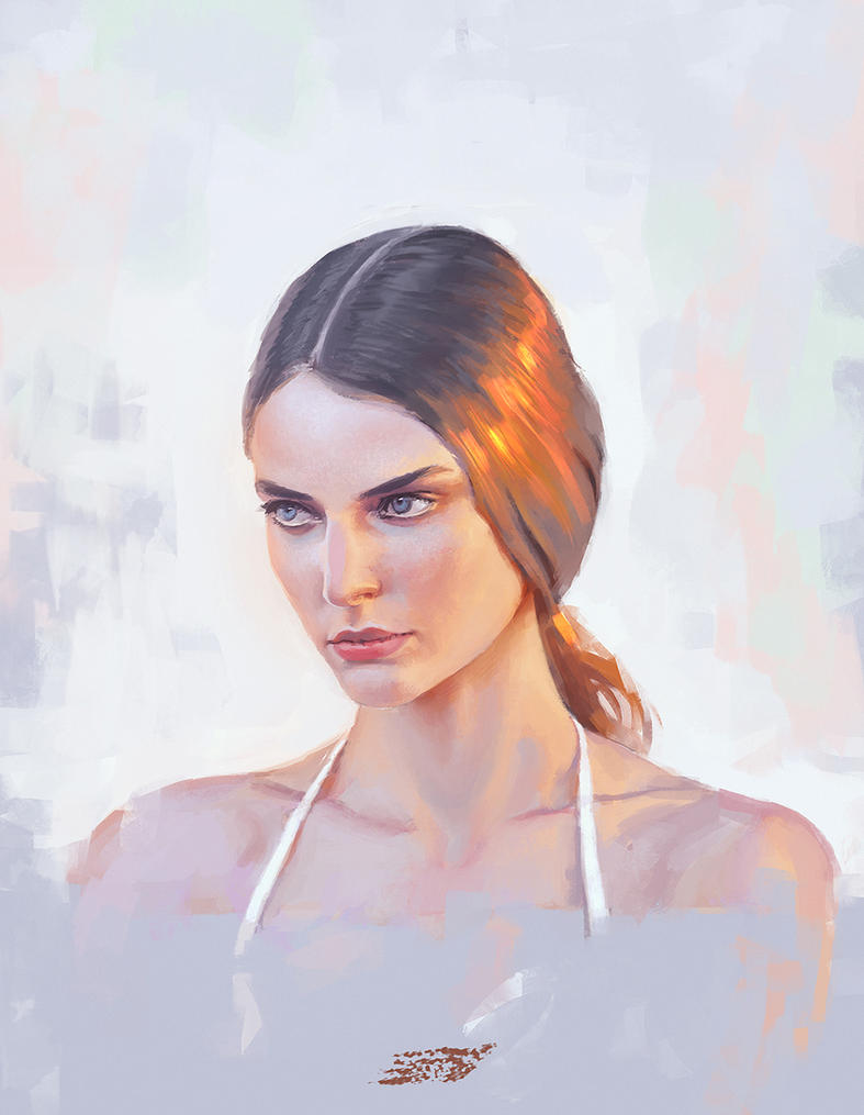 Portrait study #4 by saint-max