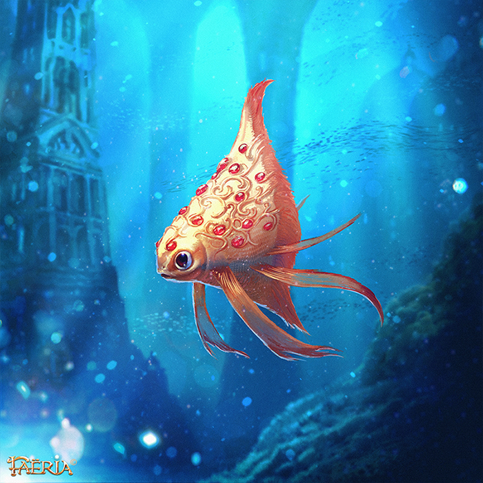 Ruby Fish ~ Faeria by saint-max