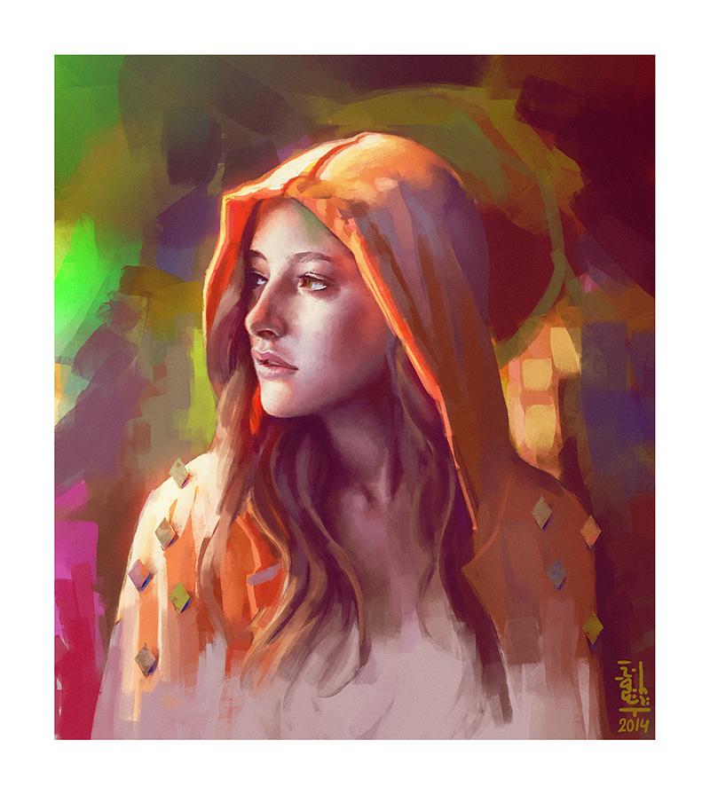 Portrait study #7 by saint-max