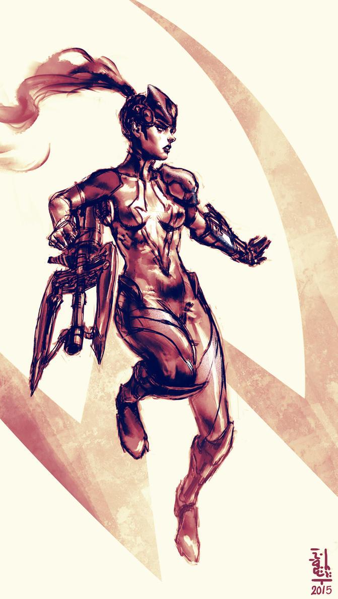 Widowmaker - Updated - by saint-max