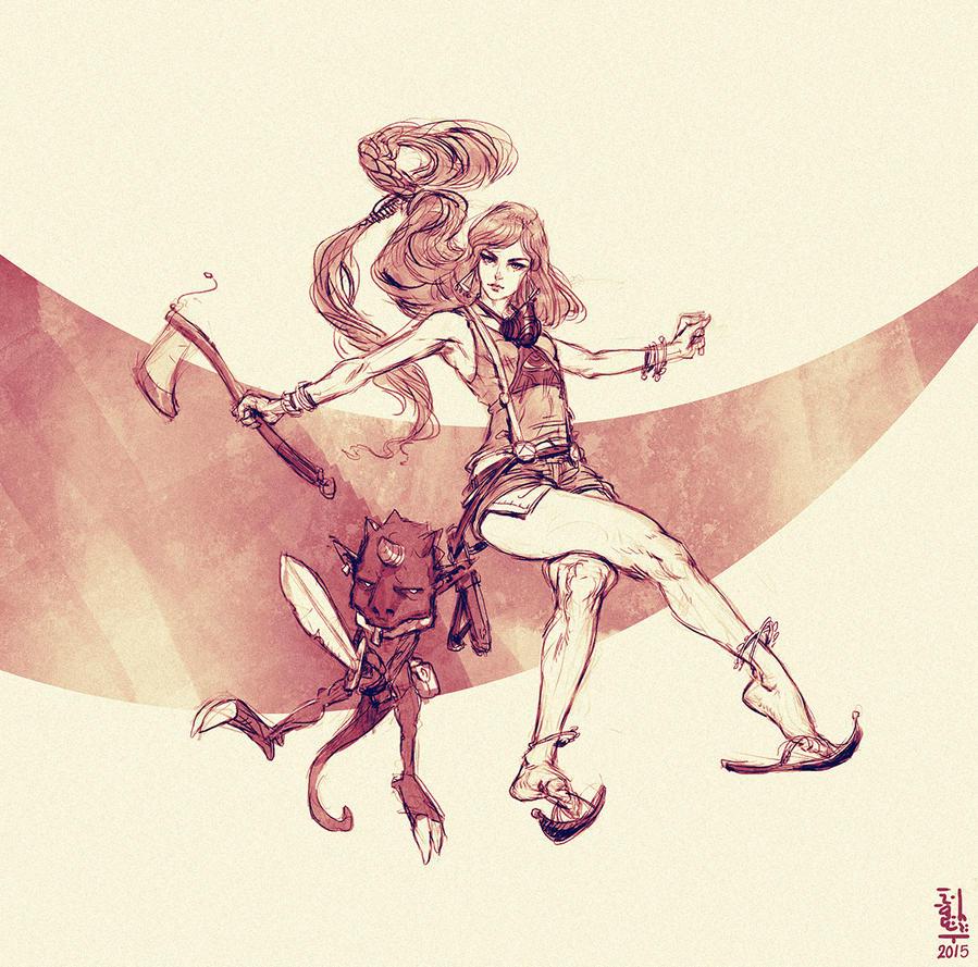 Ninja al Zaman by saint-max