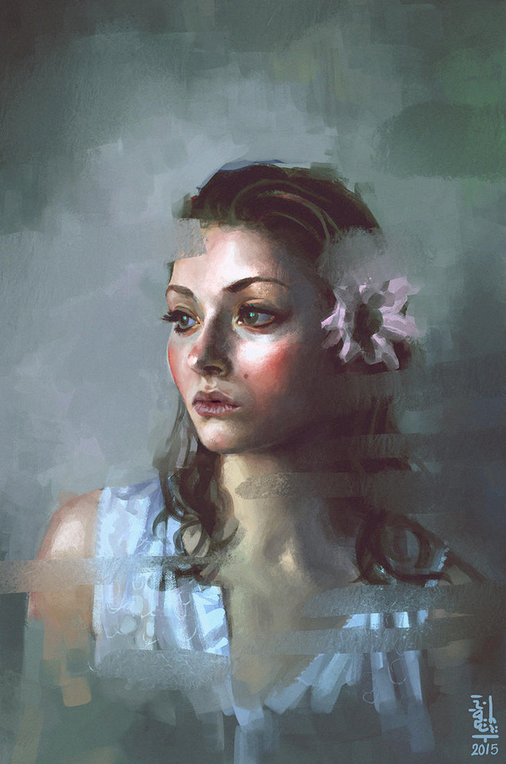 Portrait study #9 by saint-max