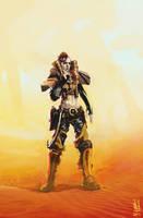 Wasteland Warrior by saint-max