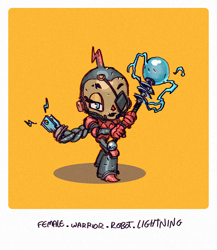 DH - Lightning Warrior by saint-max