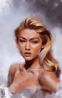 Portrait study #11 by saint-max