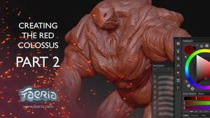 Creating The Red Colossus: Part 2