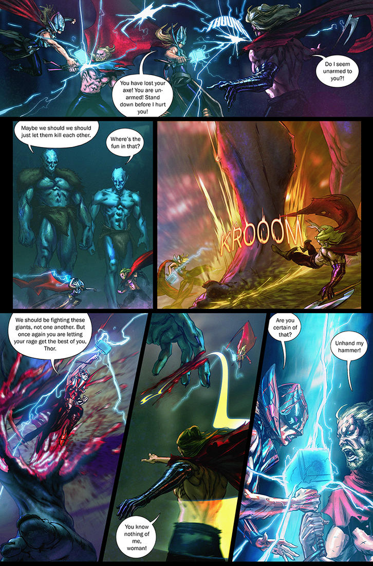 Marvel - Test Pages - 004 by saint-max
