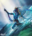 Prophet of Tides ~ Faeria by saint-max
