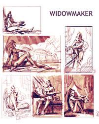 Widowmaker sketches