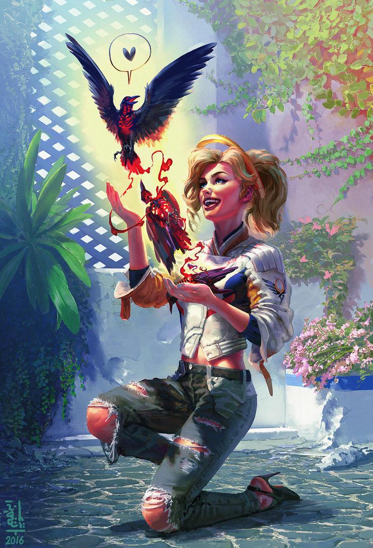 Mercy - fan art by saint-max