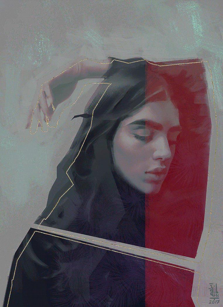 Portrait Study 14 by saint-max