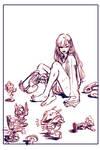 D.va: Poster Sketch