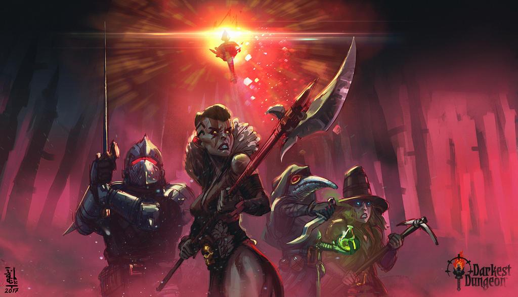 Darkest Dungeon - fan art by saint-max