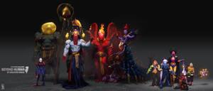 Artstation Challenge - Characters Set