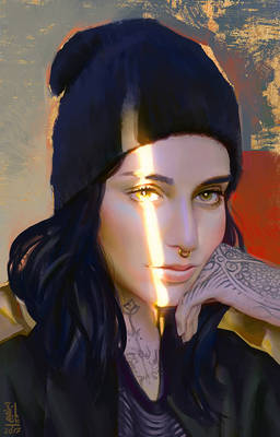 Portrait Study 16
