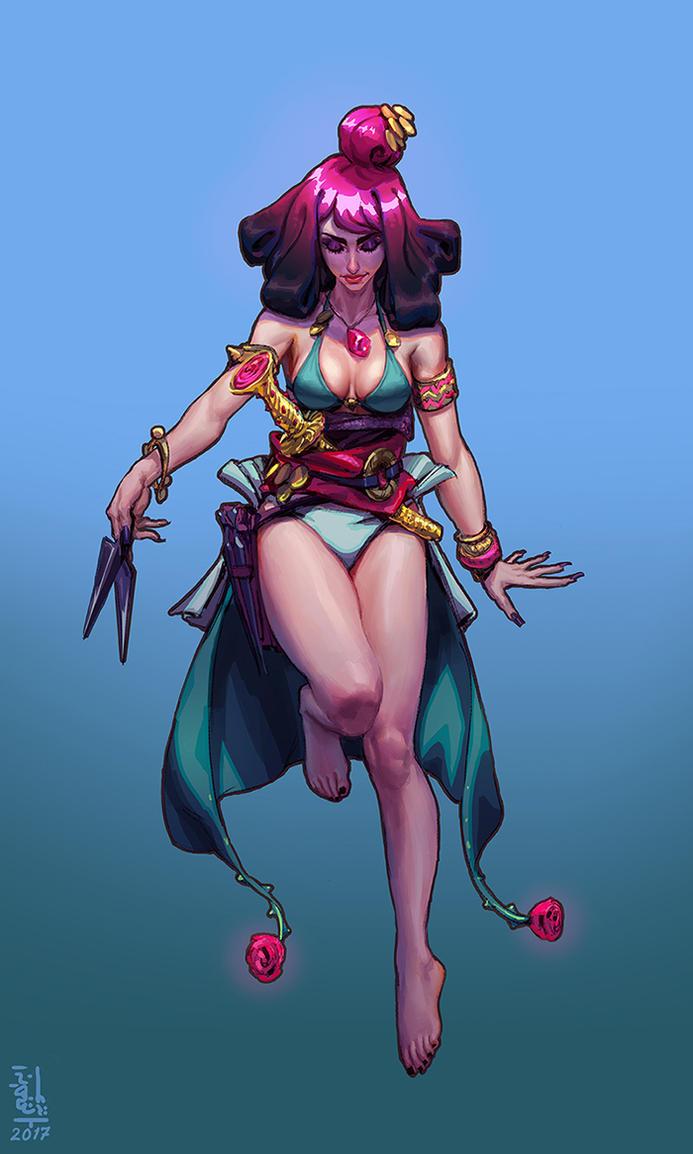 Gypsy Vampire - Gumroad Tutorial by saint-max