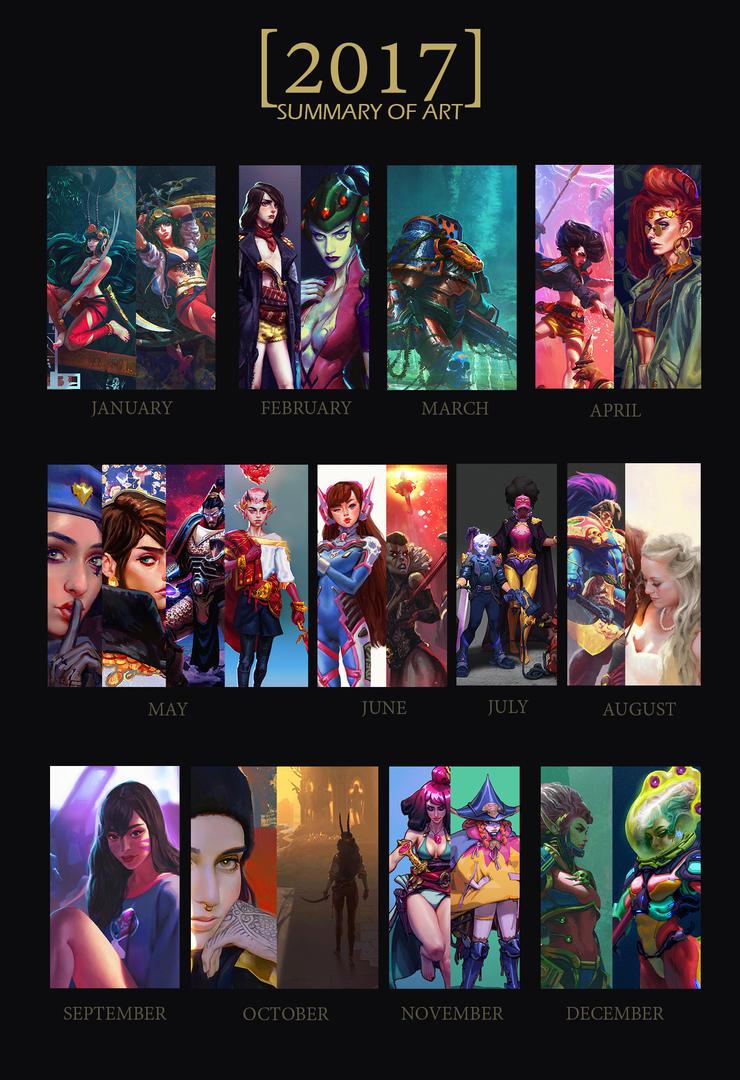 2017 Summary of ART by saint-max