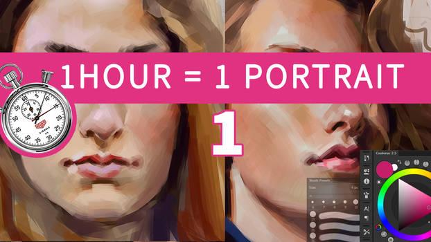 1 Hour = 1 Portrait [1]