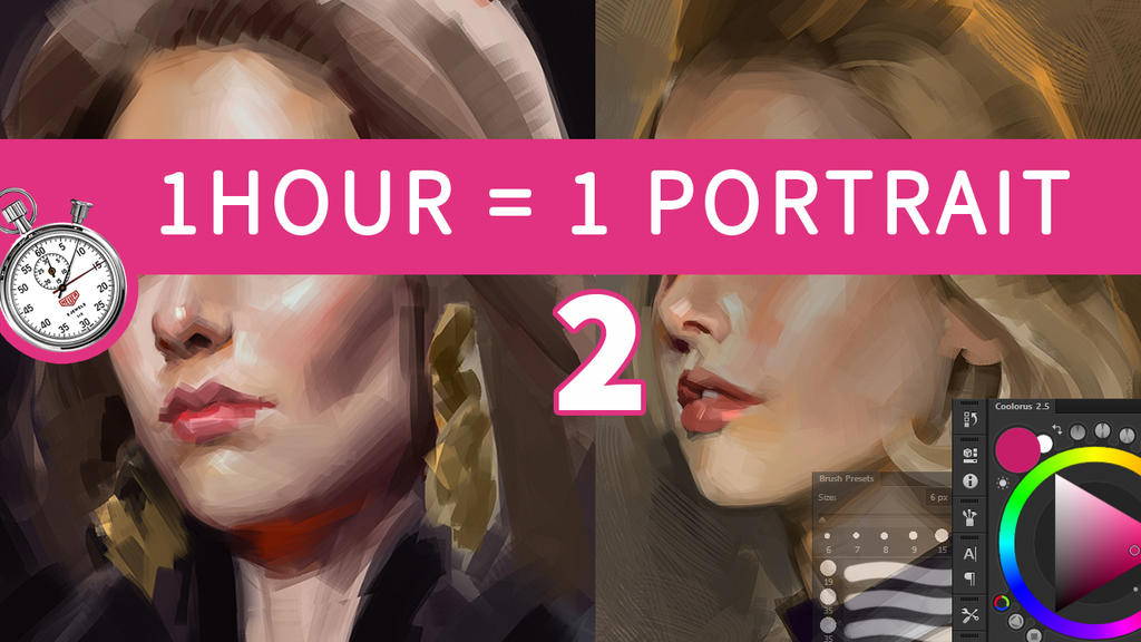 1 Hour = 1 Portrait [2] by saint-max