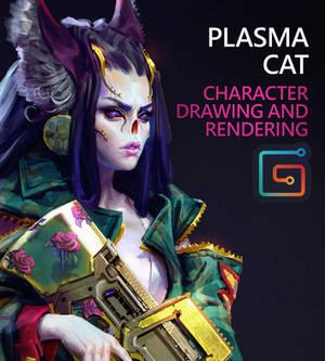Plasma Cat : Drawing and Rendering Tutorial