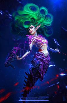 Cyber Mermaid