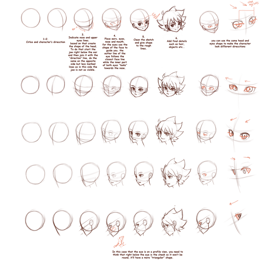 Tutorial: Head angles by Kifumi-chan1