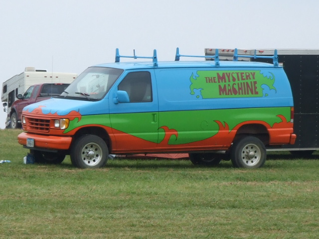 the real mystery machine