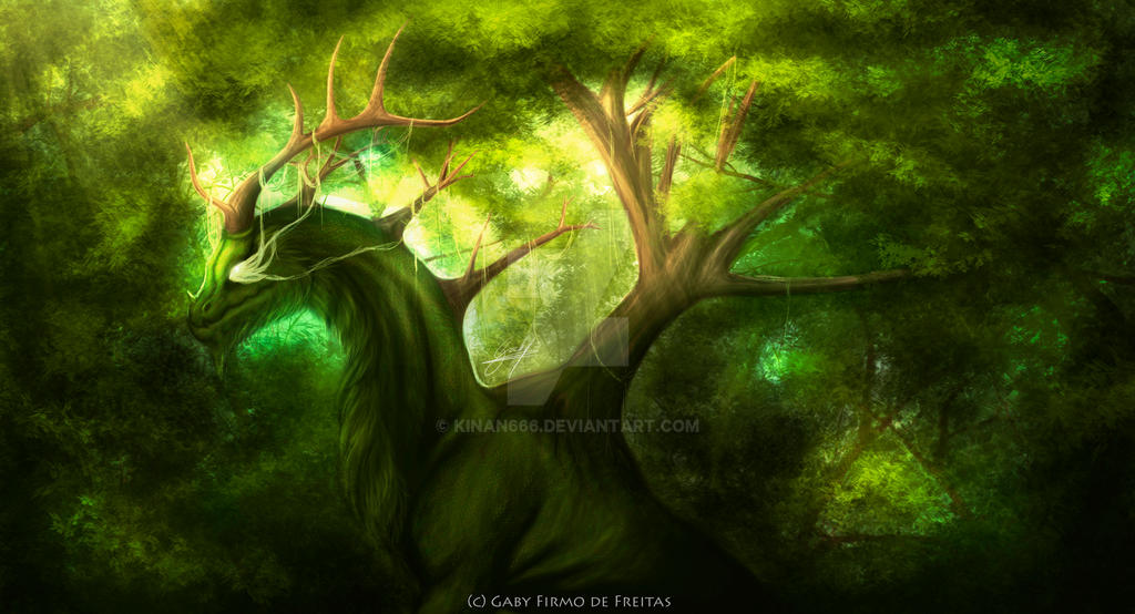 The Forest God by Kinan666