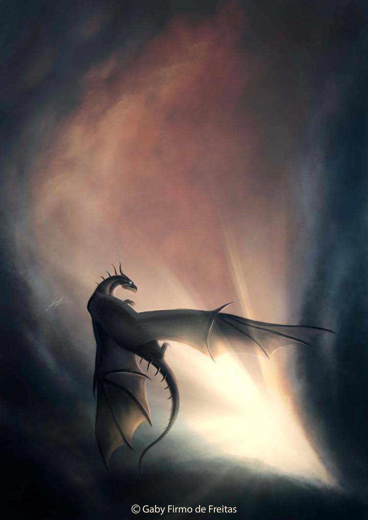 Doodle: Sky Dance by Kinan666