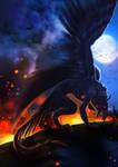 The Crow by Kinan666