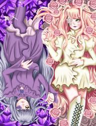 Rozen Maiden - Barasuishou and Kirakishou by NakamuraHaru-01