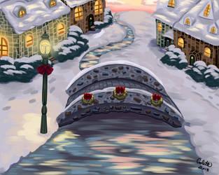 Christmas Village by NakamuraHaru-01